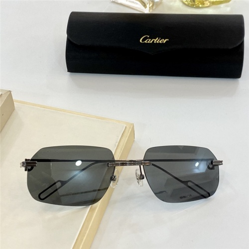 Cartier AAA Quality Sunglasses #806196