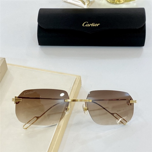 Cartier AAA Quality Sunglasses #806198