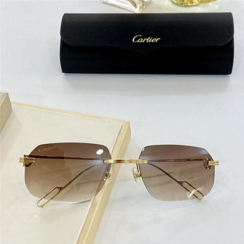 Cartier AAA Quality Sunglasses #806198