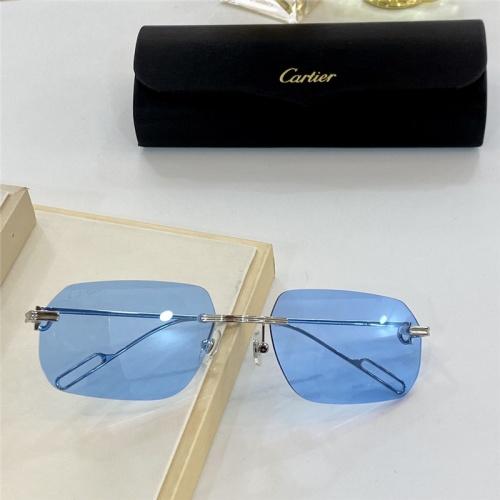 Cartier AAA Quality Sunglasses #806200