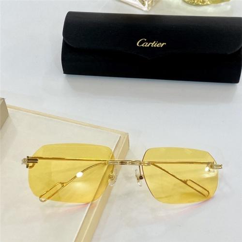Cartier AAA Quality Sunglasses #806201