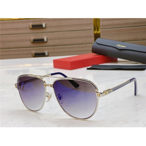 Cartier AAA Quality Sunglasses #806335