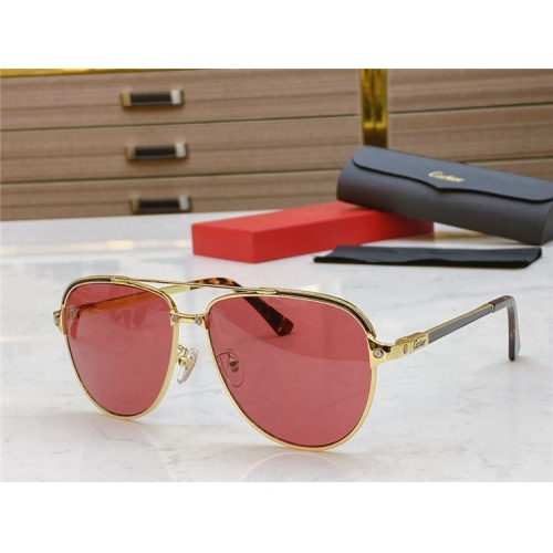 Cartier AAA Quality Sunglasses #806336
