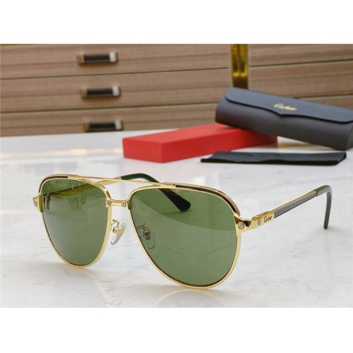 Cartier AAA Quality Sunglasses #806337