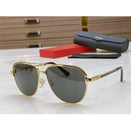 Cartier AAA Quality Sunglasses #806339