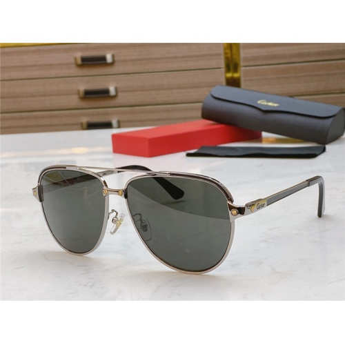Cartier AAA Quality Sunglasses #806340