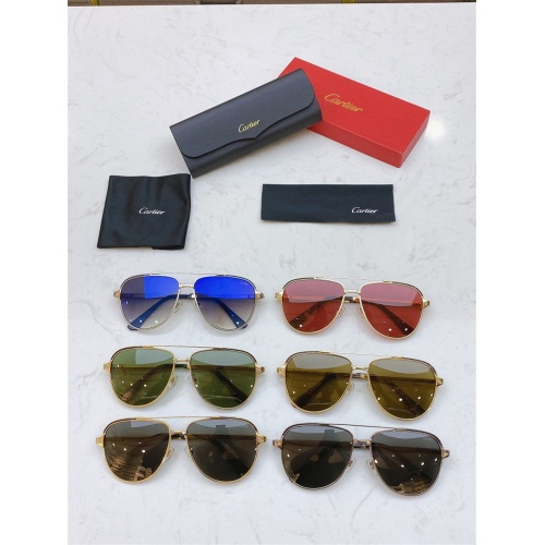 Replica Cartier AAA Quality Sunglasses #806340 $48.50 USD for Wholesale