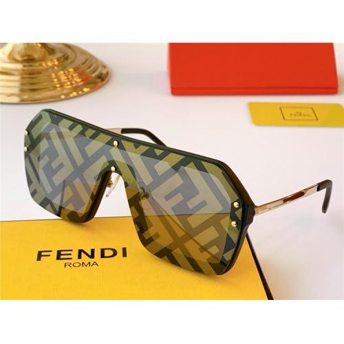Fendi AAA Quality Sunglasses #806361