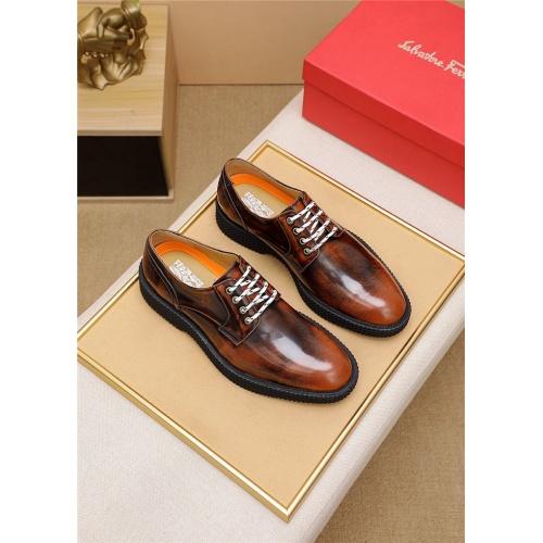 Ferragamo Salvatore FS Casual Shoes For Men #806444