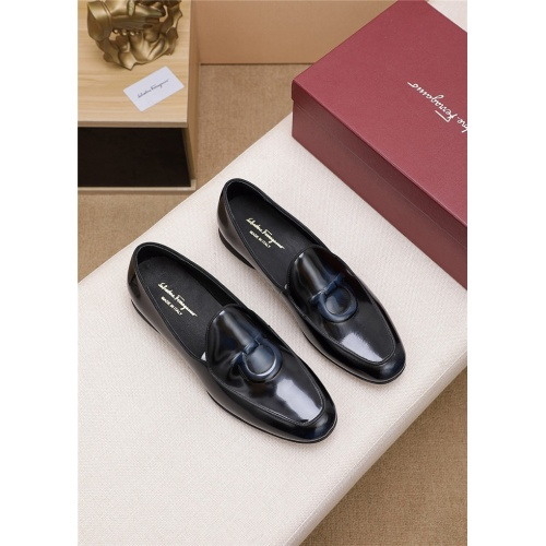 Ferragamo Salvatore FS Leather Shoes For Men #806481