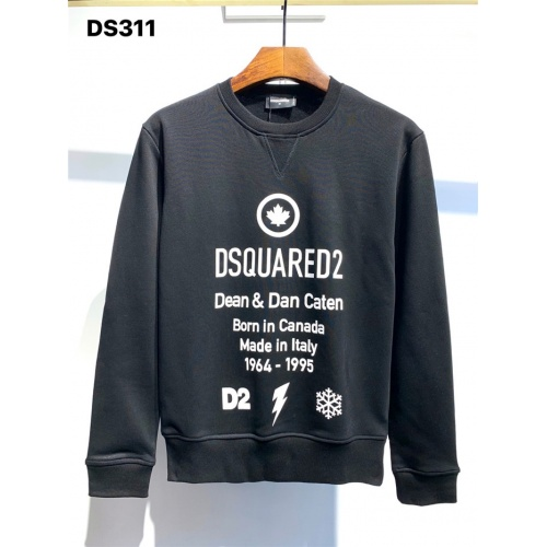 Dsquared Hoodies Long Sleeved O-Neck For Men #806666 $39.77 USD, Wholesale Replica Dsquared Hoodies