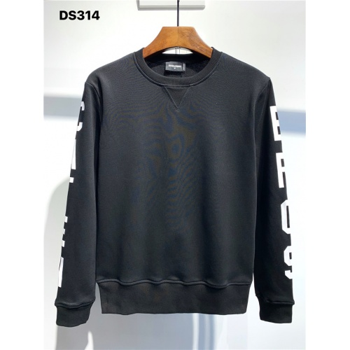 Dsquared Hoodies Long Sleeved O-Neck For Men #806668 $39.77 USD, Wholesale Replica Dsquared Hoodies