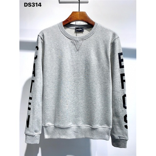 Dsquared Hoodies Long Sleeved O-Neck For Men #806669 $39.77 USD, Wholesale Replica Dsquared Hoodies