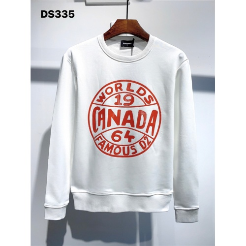 Dsquared Hoodies Long Sleeved O-Neck For Men #806686 $39.77 USD, Wholesale Replica Dsquared Hoodies