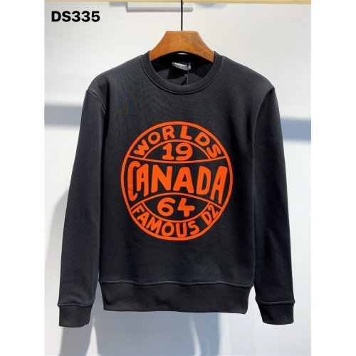 Dsquared Hoodies Long Sleeved O-Neck For Men #806687 $39.77 USD, Wholesale Replica Dsquared Hoodies
