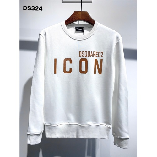 Dsquared Hoodies Long Sleeved O-Neck For Men #806696