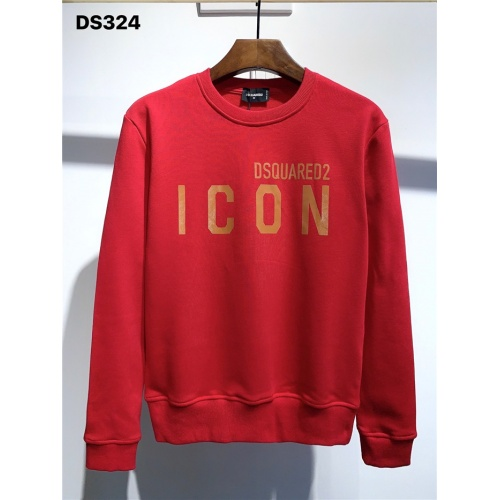 Dsquared Hoodies Long Sleeved O-Neck For Men #806697