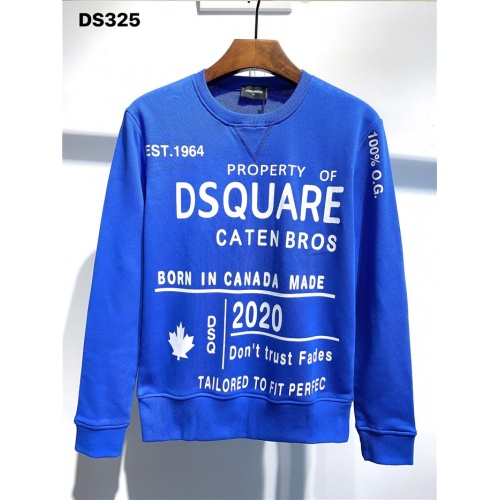 Dsquared Hoodies Long Sleeved O-Neck For Men #806698