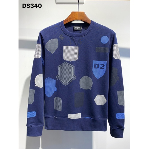 Dsquared Hoodies Long Sleeved O-Neck For Men #806715