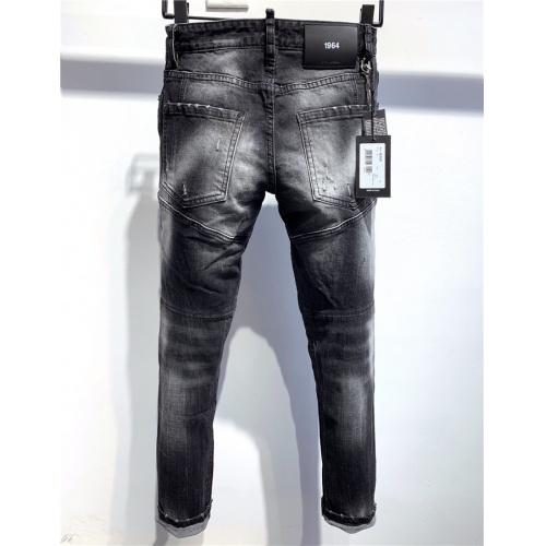 Dsquared Jeans Trousers For Men #806722 $58.20 USD, Wholesale Replica Dsquared Jeans