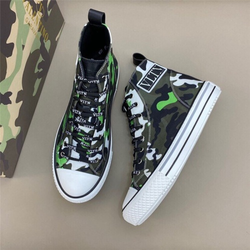 Valentino High Tops Shoes For Men #806937