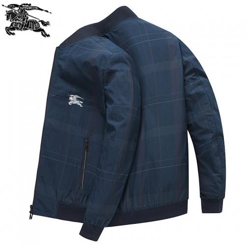 Burberry Jackets Long Sleeved Zipper For Men #807088