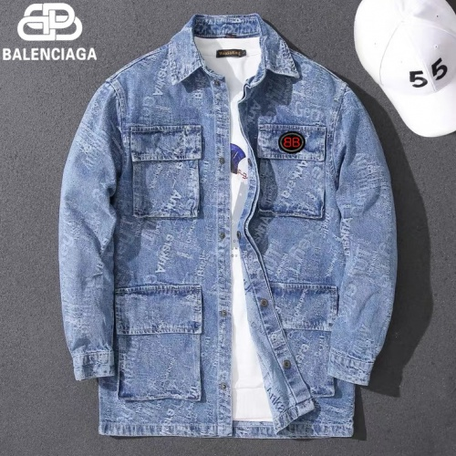 Balenciaga Jackets Long Sleeved For Men #807092