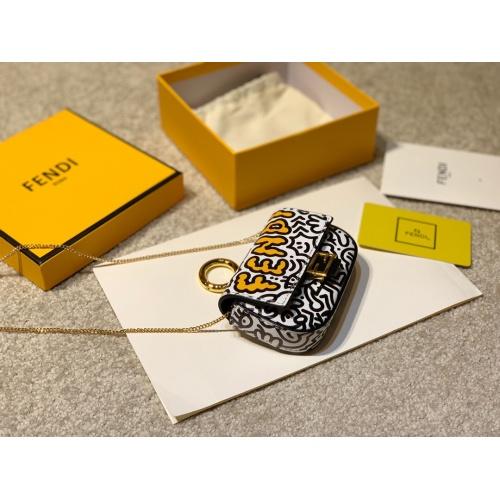 Replica Fendi AAA Messenger Bags For Women #807099 $85.00 USD for Wholesale