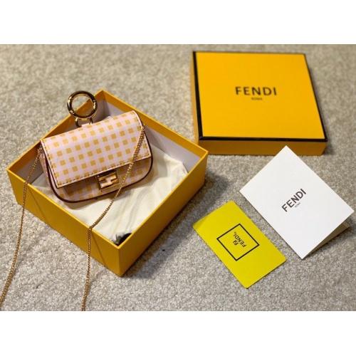 Fendi AAA Messenger Bags For Women #807101 $85.00, Wholesale Replica Fendi AAA Messenger Bags