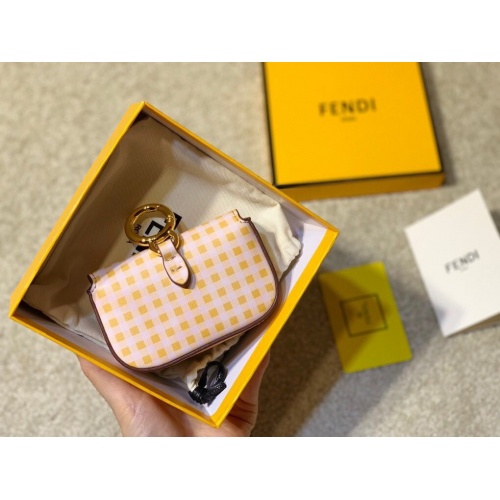 Replica Fendi AAA Messenger Bags For Women #807101 $85.00 USD for Wholesale