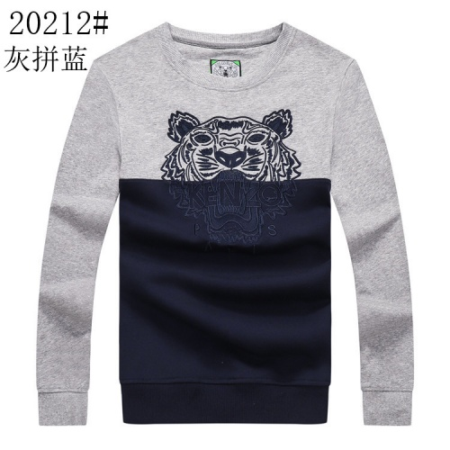 Kenzo Hoodies Long Sleeved O-Neck For Men #807175 $36.00 USD, Wholesale Replica Kenzo Hoodies
