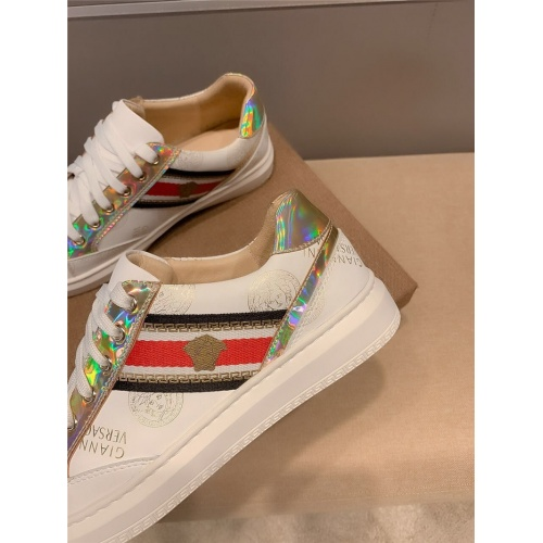 Replica Versace Casual Shoes For Men #807240 $68.00 USD for Wholesale