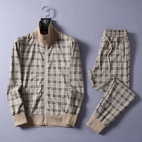 Burberry Tracksuits Long Sleeved Zipper For Men #807317