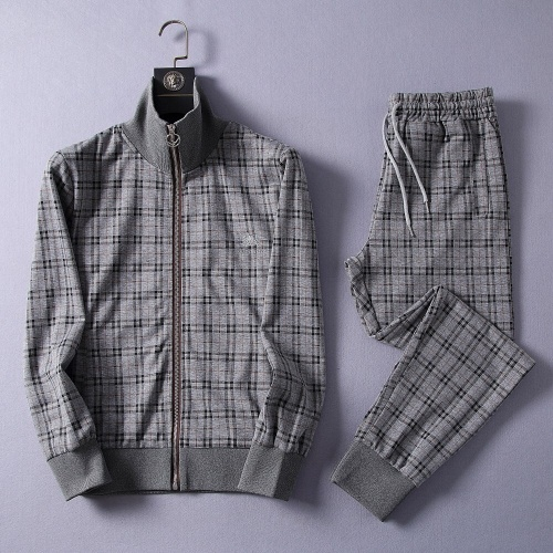 Burberry Tracksuits Long Sleeved Zipper For Men #807318