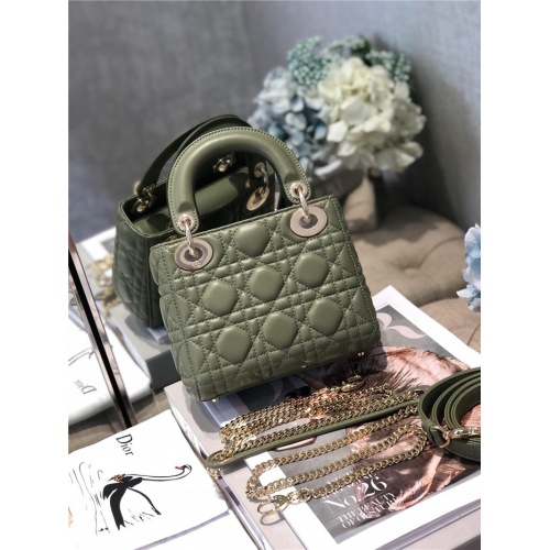 Replica Christian Dior AAA Quality Messenger Bags #807403 $82.00 USD for Wholesale