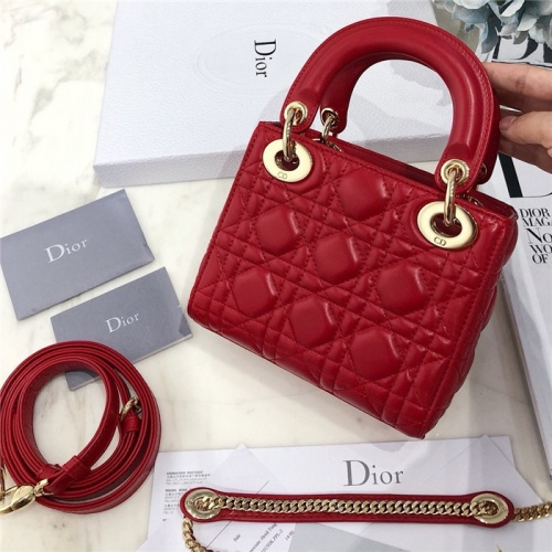 Replica Christian Dior AAA Quality Messenger Bags #807412 $82.00 USD for Wholesale