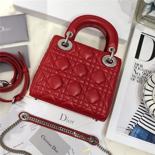 Replica Christian Dior AAA Quality Messenger Bags #807413 $82.00 USD for Wholesale