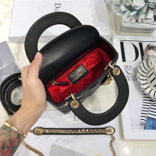 Replica Christian Dior AAA Quality Messenger Bags #807414 $82.00 USD for Wholesale