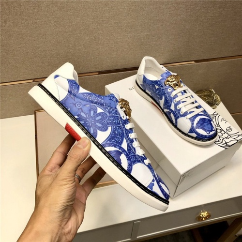 Replica Versace Casual Shoes For Men #807467 $72.00 USD for Wholesale