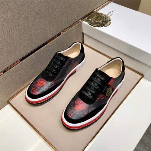 Versace Casual Shoes For Men #807468 $72.00, Wholesale Replica Versace Casual Shoes
