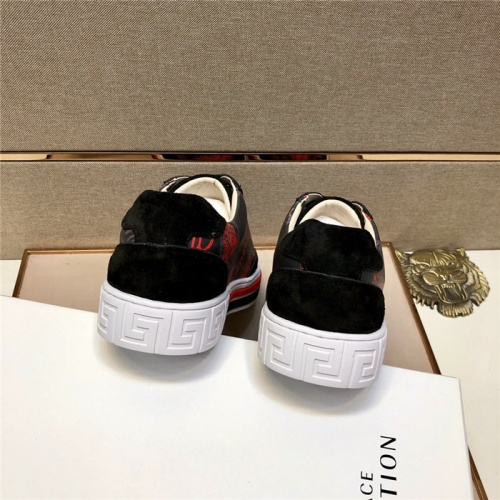 Replica Versace Casual Shoes For Men #807468 $72.00 USD for Wholesale
