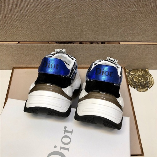 Replica Christian Dior Casual Shoes For Men #807479 $80.00 USD for Wholesale