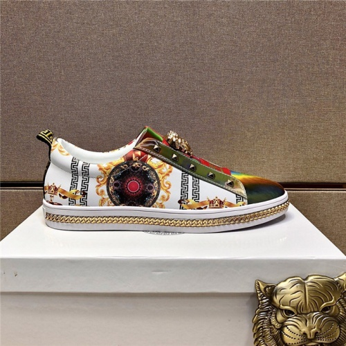 Replica Versace Casual Shoes For Men #807482 $80.00 USD for Wholesale