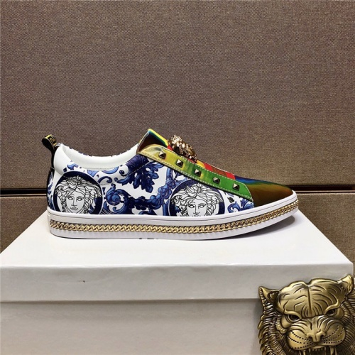 Replica Versace Casual Shoes For Men #807483 $80.00 USD for Wholesale