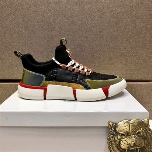 Replica Versace Casual Shoes For Men #807484 $82.00 USD for Wholesale