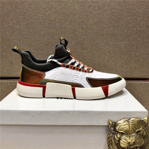 Replica Versace Casual Shoes For Men #807485 $82.00 USD for Wholesale