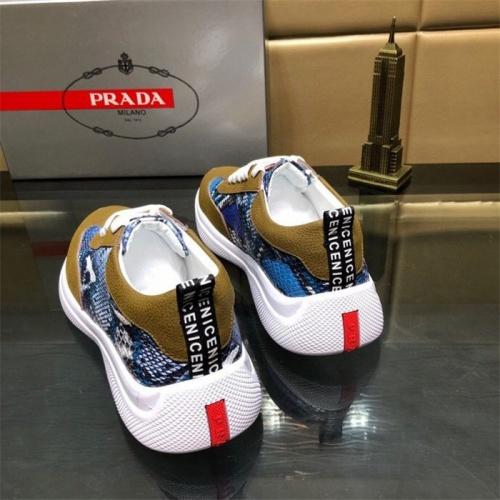 Replica Prada Casual Shoes For Men #807514 $72.00 USD for Wholesale