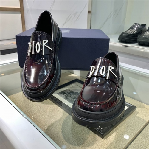 Replica Christian Dior Casual Shoes For Men #807518 $125.00 USD for Wholesale