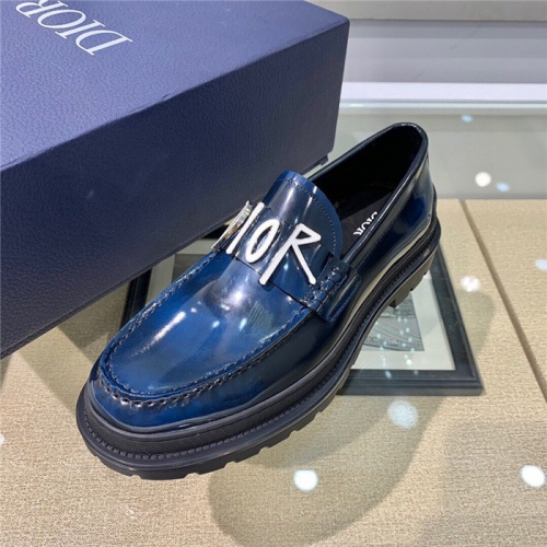 Replica Christian Dior Casual Shoes For Men #807519 $125.00 USD for Wholesale