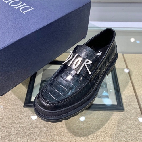 Replica Christian Dior Casual Shoes For Men #807522 $125.00 USD for Wholesale